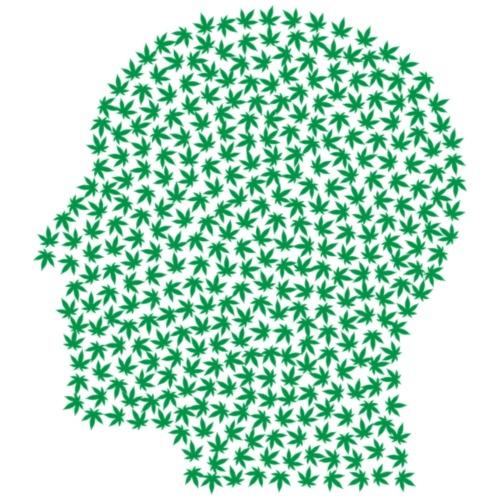 Marijuana Brain 420 - Turnbeutel