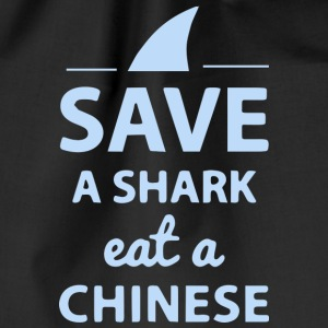 Save A SHARK EAT A CHINESE !! - Gymtas