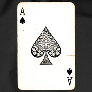 Games Card Ace Of Spades - Drawstring Bag