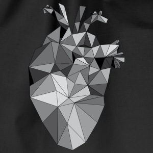 Graphic Heart - Gymtas