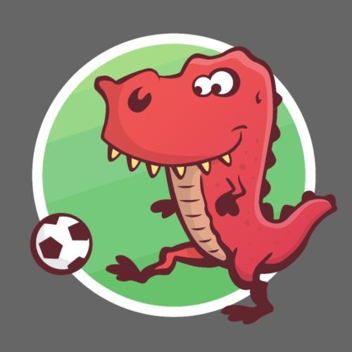 Fußball T-Rex - Turnbeutel