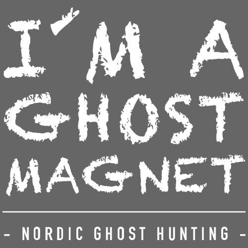 I´m a ghost magnet - Gymnastikpåse