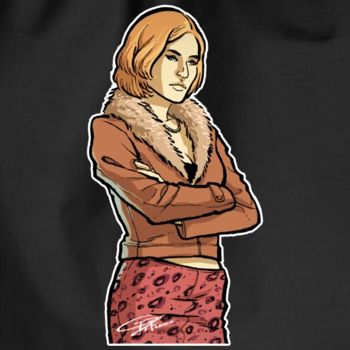 Spy Woman - Drawstring Bag