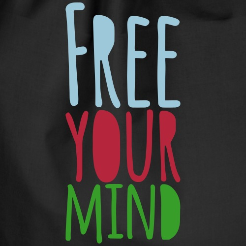 Free your mind - Turnbeutel