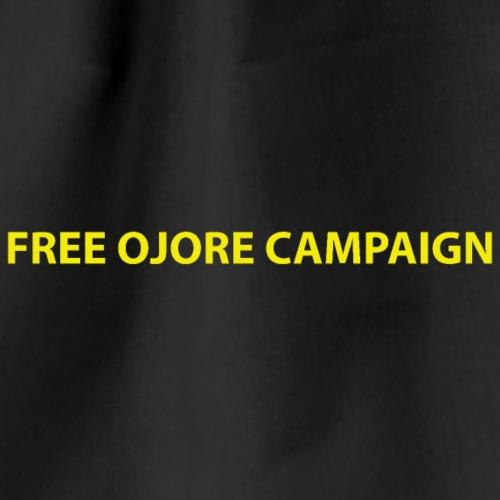 FREE OJORE CAMPAIGN yellow - Drawstring Bag