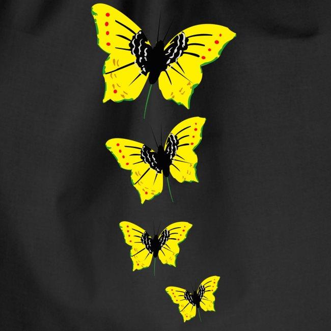 papillon transparent vjr, rastafari long