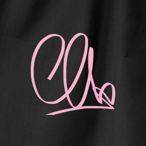CA Initials Signature - Mochila saco