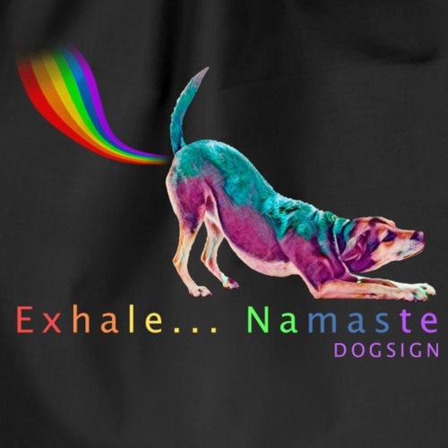 Exhale... Namaste - Mochila saco