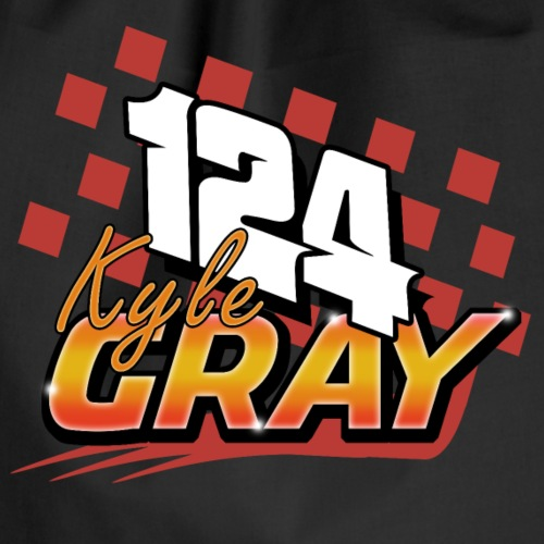 124 Kyle Gray Brisca 2019 - Drawstring Bag