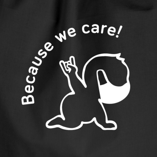 Because we care Mask