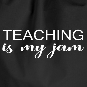 Teaching jam - Drawstring Bag