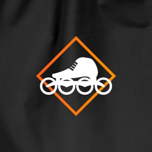 Speedskating Orange - Turnbeutel