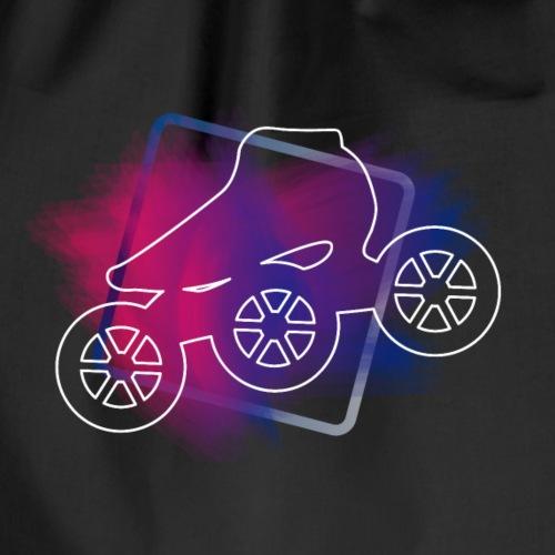Farbexplosion Speedskating - Turnbeutel