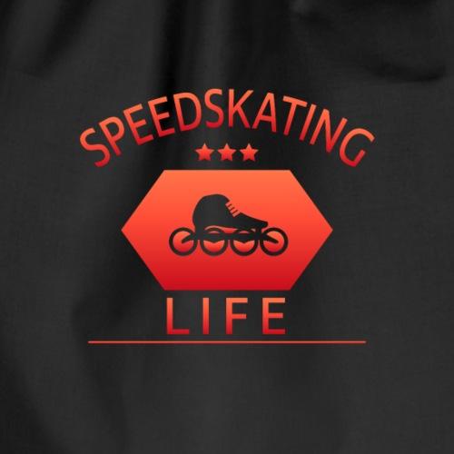 Speedskating Life - Turnbeutel