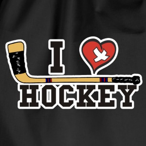 I love hockey - Sacca sportiva
