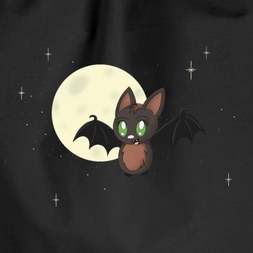 Kawaii bat - Drawstring Bag