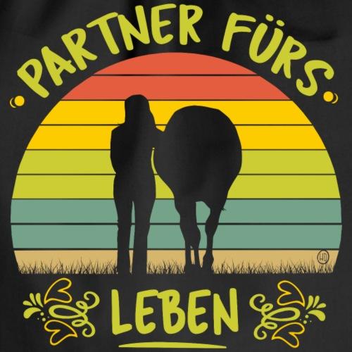 Partner fürs Leben- mein Pferd und ich - Turnbeutel