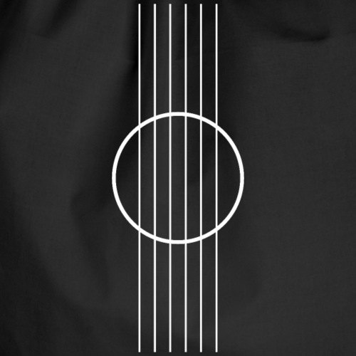 Acoustic guitar Minimalist - Drawstring Bag