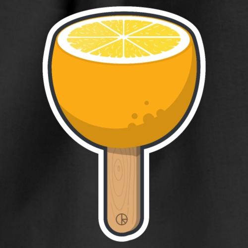 Orange am Stiel - Turnbeutel