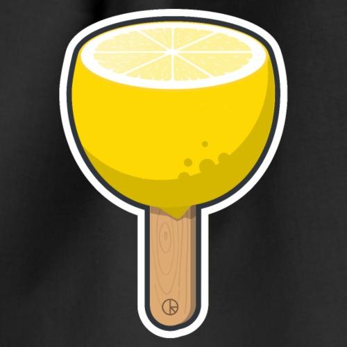 Zitrone am Stiel - Turnbeutel