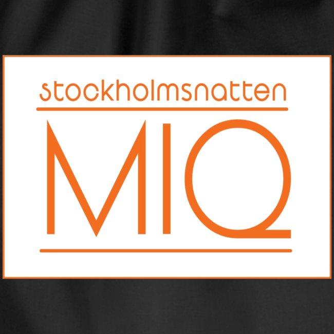 "MIQ - STOCKHOLMSNATTEN ""Singel Cover Logotype"""