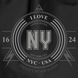 New York Badge - Sportstaske