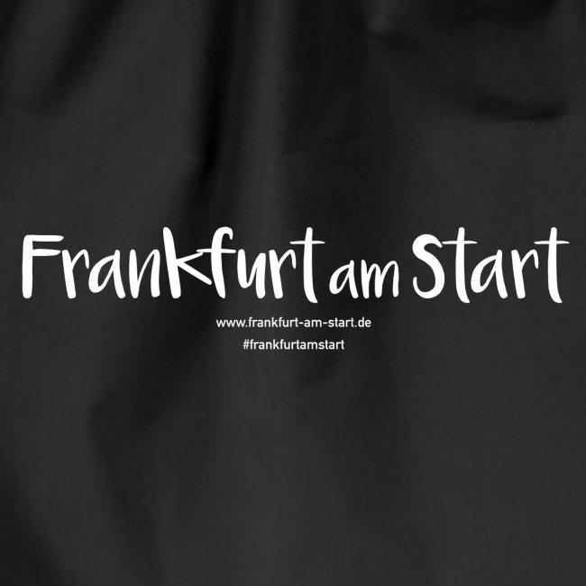 Logo Frankfurt am Start - weiß