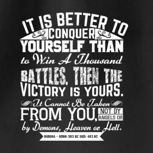 Conquer Yourself - Sportstaske