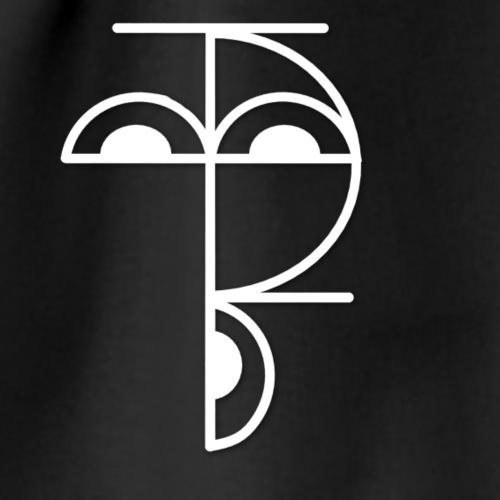 XP Logo retro weiss - Turnbeutel