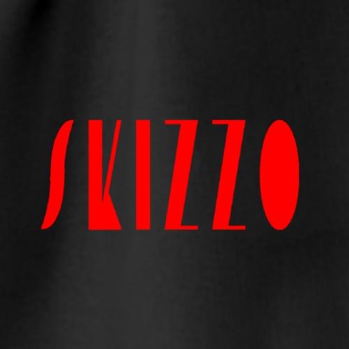 skizzo rosso - Drawstring Bag