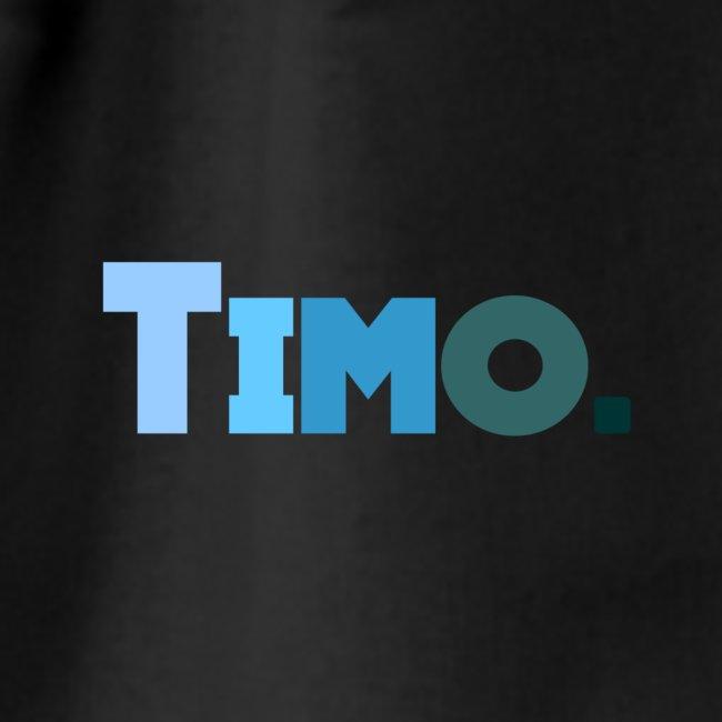 Timo in blauwe tinten