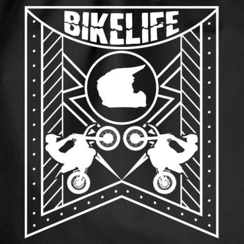 Bikelife Flag White - Gymnastikpåse