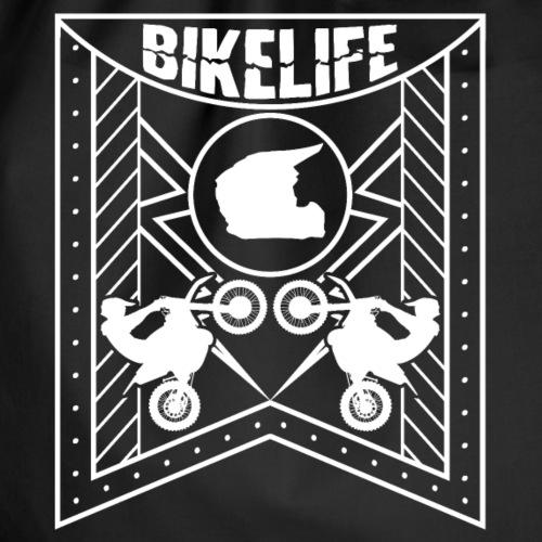 Bikelife Flag White - Gymnastikpåse