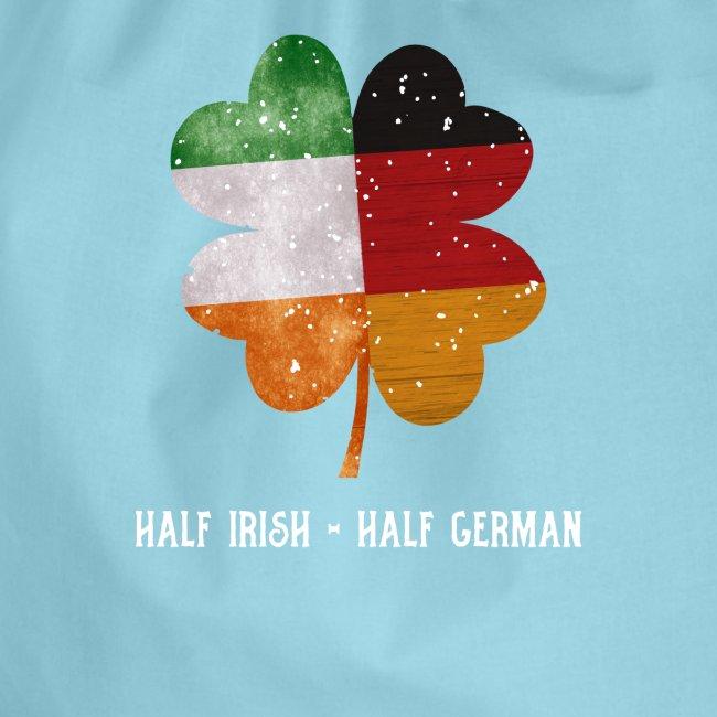 Half Irish Half German Kleeblatt - St Patricks Day