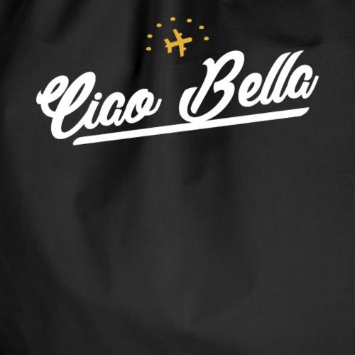 Ciao Bella, Hallo Schönheit Spruch für hübsche - Turnbeutel