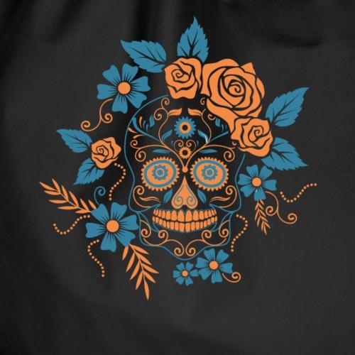 Mexikanischer Totenkopf mexikanisch Karneval - Turnbeutel
