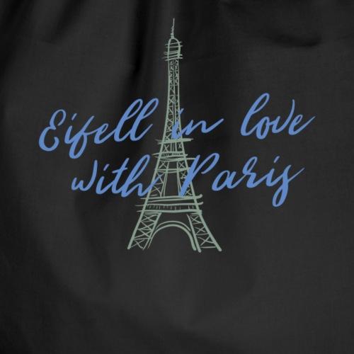 Eiffeltum in Liebe Paris Stadt Hauptstadt Eiffel - Turnbeutel