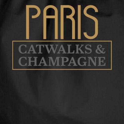 Paris, Fashion Catwalk & Champagner - Turnbeutel
