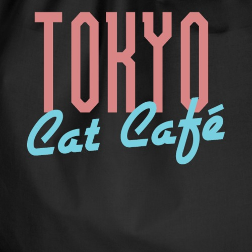 Tokyo Katzen Café Hobby Katze Haustiere - Turnbeutel