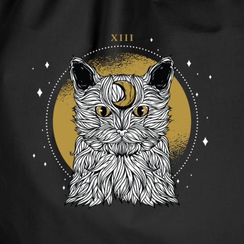 Mond Katze Universum Kater Kätzchen - Turnbeutel
