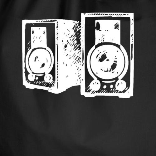 DJ Symbol Musik Musiker Party Disco - Turnbeutel