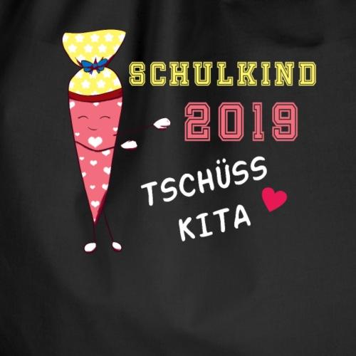 Schultüte 2019 Schulkind Mädchen Geschenk - Turnbeutel