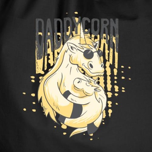Daddycorn - Einhörner für echte Papas - Turnbeutel