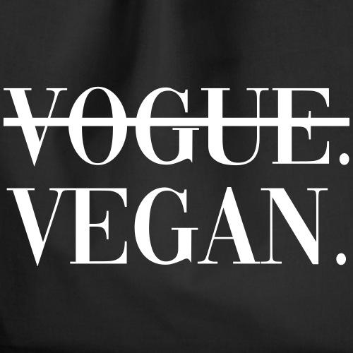 Vogue Vegan - Drawstring Bag