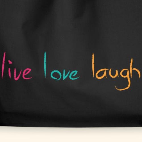 live love laugh farbig