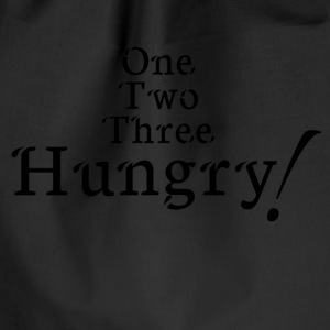 hungry! - Drawstring Bag
