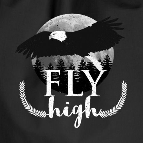 Adler Fly High Vogel TShirt - Turnbeutel