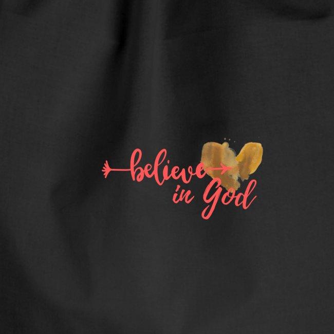 Believe in God mit Herz