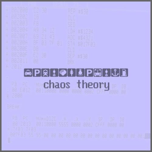 chaos theory - Drawstring Bag