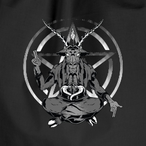 Satanic Goat - Drawstring Bag